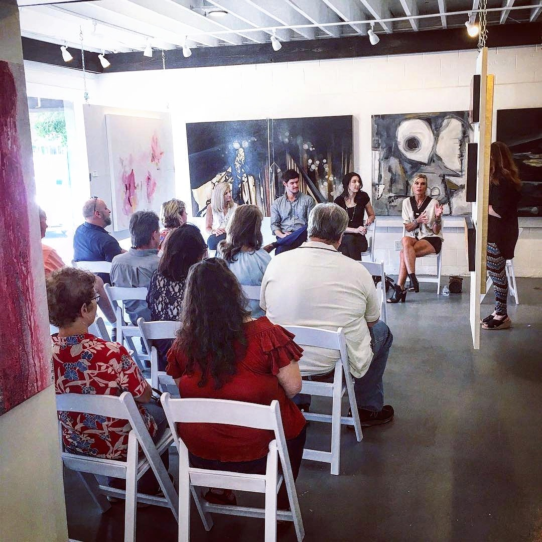 gallery43 Artist Talk featuring Angela Faustina