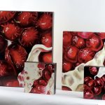 Pomegranate oil paintings by Angela Faustina