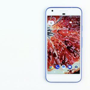Blood Orange IX smartphone wallpaper by Angela Faustina on the Google Pixel smartphone